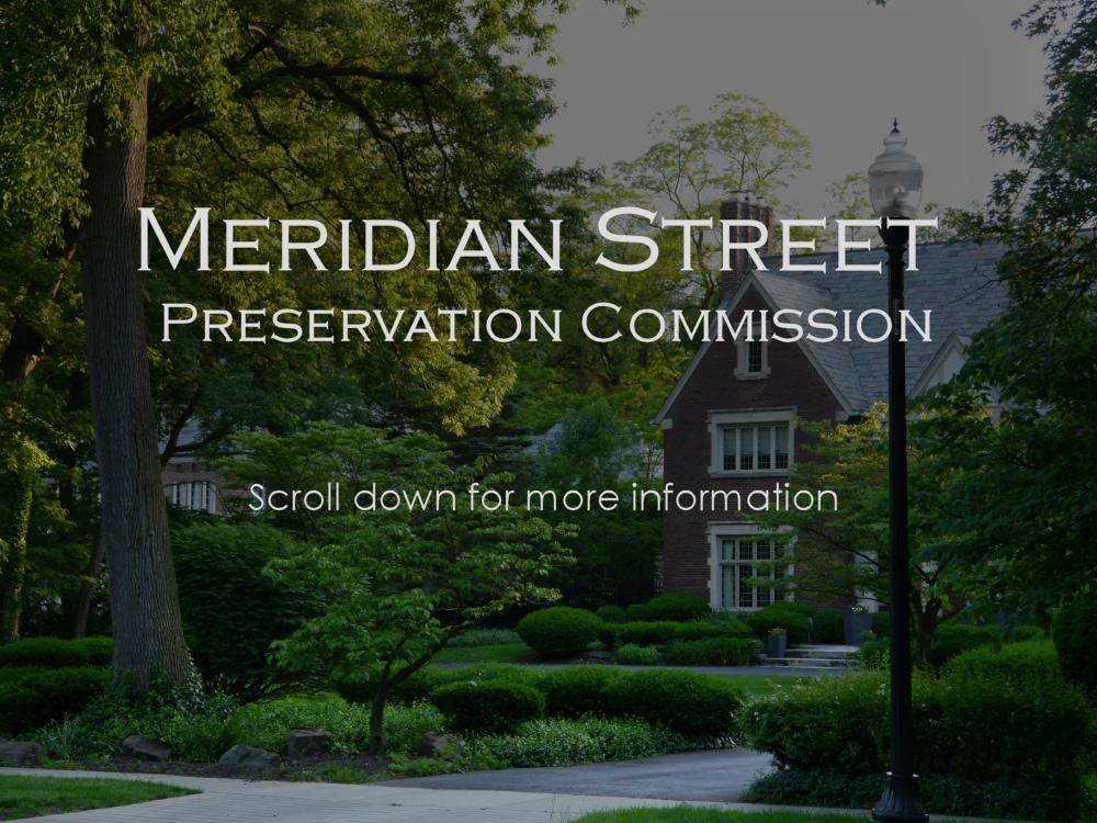 Meridian Street Preservation Commission